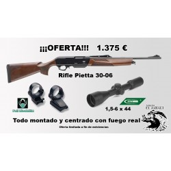 RIFLE PIETTA OFERTA PACK