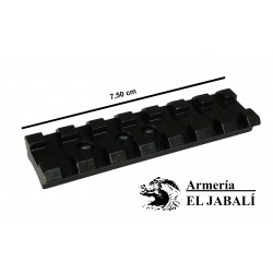 BASE CARRIL WEAVER ACERO PARA BROWNING BAR-MK, T-BOLT, BENELLI ARGO, WINCHESTER VULCAN