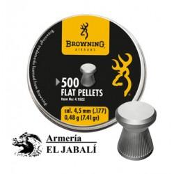 BALINES BROWNING FLAT 4.5 (500 UNI)