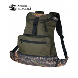 "MORRAL MOCHILA ""FORRO IMPERMEABLE Y DESMONTABLE"""