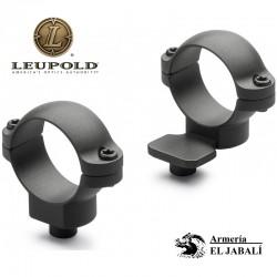ANILLAS LEUPOLD QR 30mm. EXTENSIBLE (Desmontables)