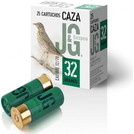 CARTUCHOS JG CAZA 32