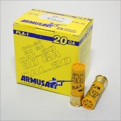 CARTUCHOS ARMUSA PLA1 CAL.20
