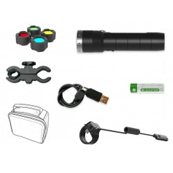 LINTERNA LED LENSER MT10 KIT CAZA