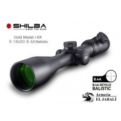 VISOR SHILBA GOLD MEDAL I6X 3-18x50 B4A BALLISTIC IR