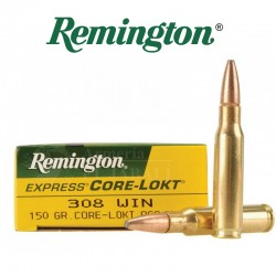 BALA REMINGTON 308 WIN 150 GR CORE LOKT PSP