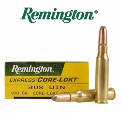 BALA REMINGTON 308 WIN 180 GR CORE LOKT SP
