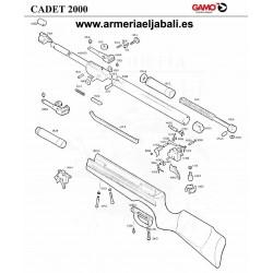 DESPIECE CARABINA GAMO CADET 2000