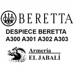 DESPIECE BERETTA A300 A301 A302 A303