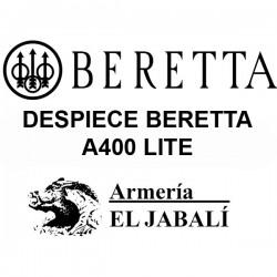 DESPIECE BERETTA A400 LITE