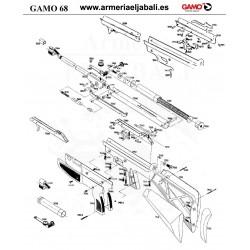 DESPIECE CARABINA GAMO 68