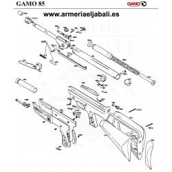 DESPIECE CARABINA GAMO 85