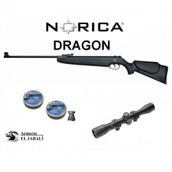 PACK CARABINA NORICA DRAGON 4,5