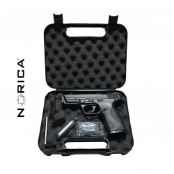 PACK PISTOLA CO2 NORICA N.A.C. 1703 4.5 BB