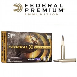 BALA FEDERAL 270 WIN 136GR EDGE TLR