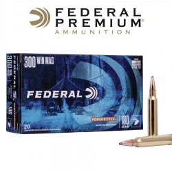 BALA FEDERAL 300 WM 180GR SOFT POINT