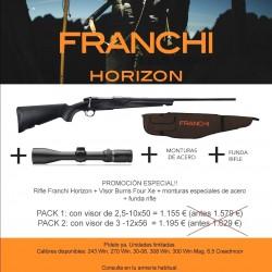 FRANCHI HORIZON PACK BURRIS