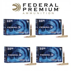 BALA FEDERAL 30-06 SPRING 180GR JACKETED SOFT POINT x4 CAJAS