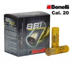 CARTUCHOS BBI BENELLI CAL. 20
