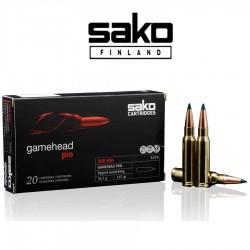BALA SAKO 308 Win 165 grains GameHead Pro