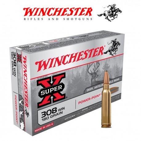 BALA WINCHESTER SUPER X 308WM 180GR POWER POINT
