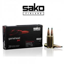 BALA SAKO 6,5 Creed 130 grains GameHead Pro