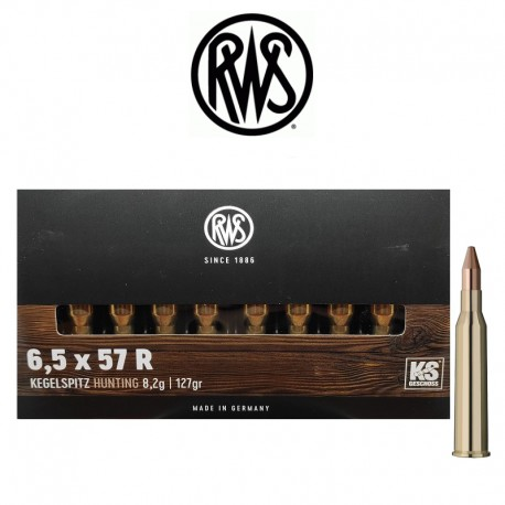 BALA RWS 6.5x57r KS 127 Gr